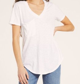 Z SUPPLY SHOP The Cotton Slub Pocket Tee (More Colors Available)