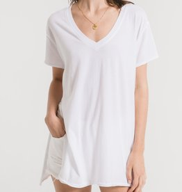 Z SUPPLY SHOP The Organic Cotton Side Slit Tunic(More Colors Available)