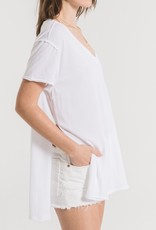 Z SUPPLY SHOP THE ORGANIC COTTON SIDE SLIT TUNIC