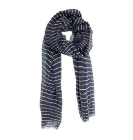 JOY SUSAN BROKEN STRIPE SCARF