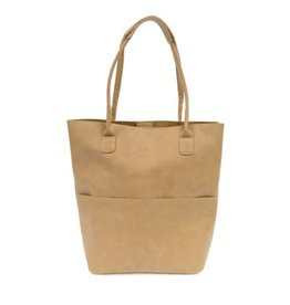 JOY SUSAN Kelly Front Pocket Tote (More Colors Available)