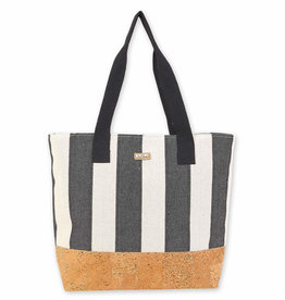 SUN N SAND Cotton/Cork Tote(More Colors Available)