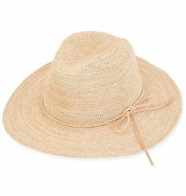 SUN N SAND Ian Raffia Hat