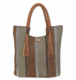 SUN N SAND Polystraw Tote(More Colors Available)