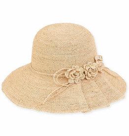 SUN N SAND Raffia Bucket Hat