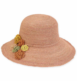 SUN N SAND Raffia Hat HH2298(More Colors Aailable)