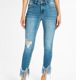 KANCAN Gemma Mid Rise Ankle Skinny