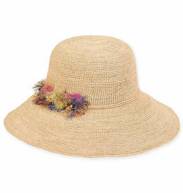 SUN N SAND Raffia Hat HH2300(More Colors Available)