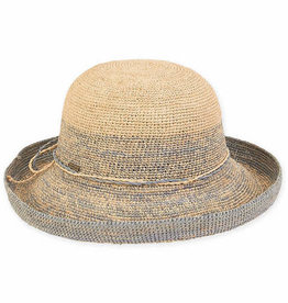 SUN N SAND Raffia Upbrim Hat(More Colors Available)
