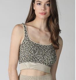 NIKIBIKI Leopard Bra Top