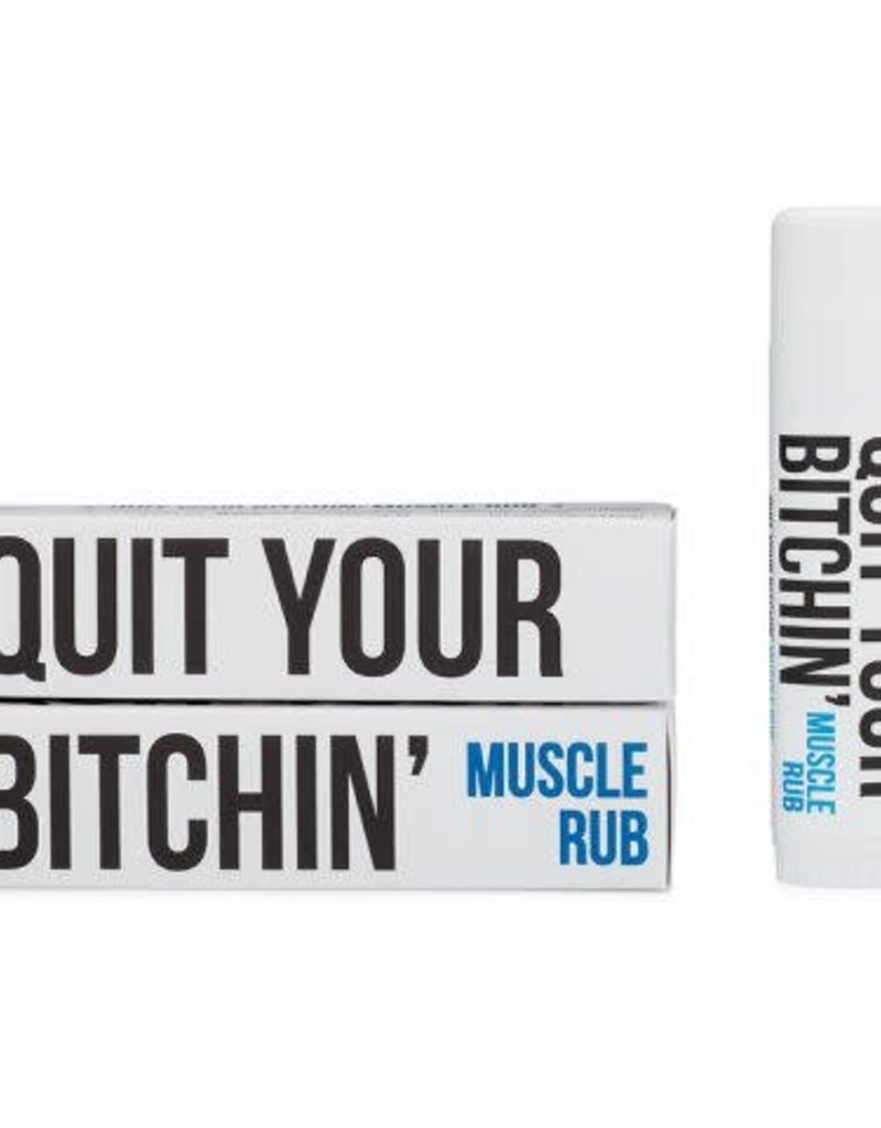 BITCHSTIX QUIT YOUR BITCHIN MUSCLE RUB