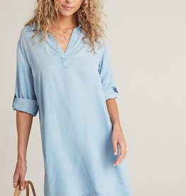 BELLA DAHL SHOP Long Sleeve A-Line Dress