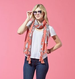 TICKLED PINK Dahlia Scarf(More Colors Available)