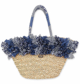 SUN N SAND Straw Shoulder Tote CE6310