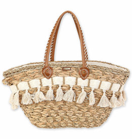 SUN N SAND Straw Shoulder Tote CE6311