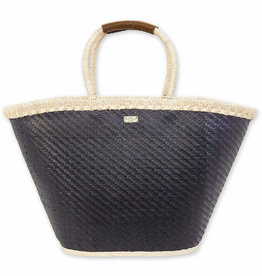 SUN N SAND Straw Shoulder Tote