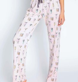 P J  SALVAGE PLAY PRINT PANT(More colors available)