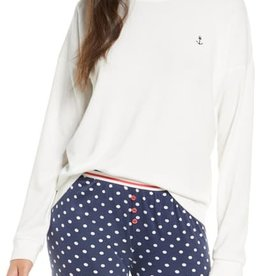 P J  SALVAGE SEAS THE DAY L/S TOP