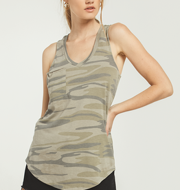 Z SUPPLY SHOP The Camo Pocket Racer Tank(More Colors Available)