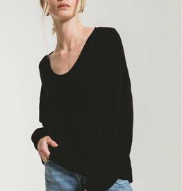 Z SUPPLY SHOP The Premium Fleece Deep VNeck(More colors available)