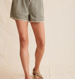 BELLA DAHL SHOP Frayed Hem Pocket Short (More Colors Available)