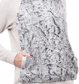 CAPOTE Faux Fur Sweatshirt