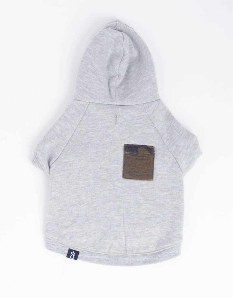 Z SUPPLY SHOP THE SNAP FRONT HOODIE