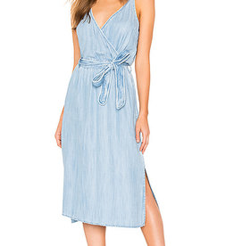 BELLA DAHL Cross Front Midi Dress