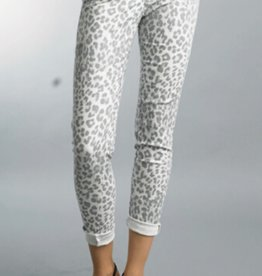 TEMPO PARIS Cheetah Print Pant