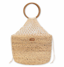 SUN N SAND Sea Grass Shoulder Tote