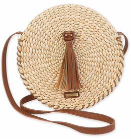 SUN N SAND Husk Round Crossbody(More Colors Available)