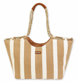 SUN N SAND P/Sea Grass Shoulder Tote CE6348
