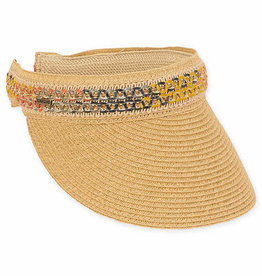 SUN N SAND Paperbraid Visor HH2346(More Colors Available)