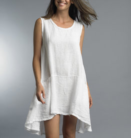 TEMPO PARIS Linen Pocket Dress