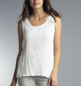 TEMPO PARIS Linen Combo Top(More Colors Available)