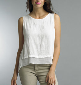 TEMPO PARIS Linen Tank(More Colors Available)