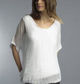 TEMPO PARIS V Neck Top(More Colors Available)