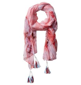 TICKLED PINK Floral Escape Scarf(More Colors Available)