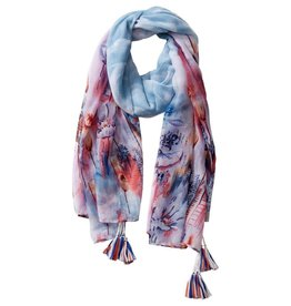 TICKLED PINK Floral Escape Scarf (More Colors Available)