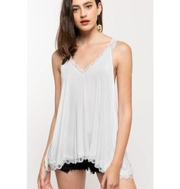 POL CLOTHING Lace Cami Tank(More Colors Available)