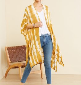 KW FASHION CORP Tie Dye Kimono