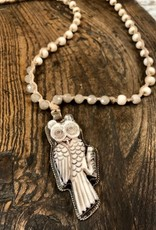 JONAS SHOP CARVED OWL JSH