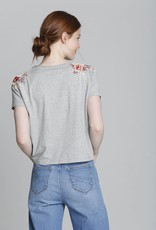 DRIFTWOOD TIE FRONT TEE DW-T40280A