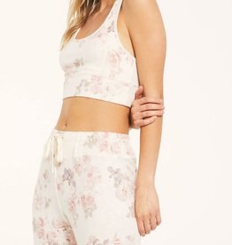 Z SUPPLY SHOP SIA FLORAL TANK BRA