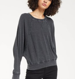 Z SUPPLY SHOP CLAIRE WAFFLE TOP
