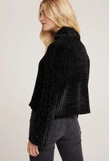 BELLA DAHL SHOP CABLE SLEEVE TURTLENECK