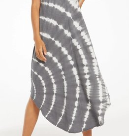 Z SUPPLY SHOP REVERIE SPIRAL TIE-DYE DRESS
