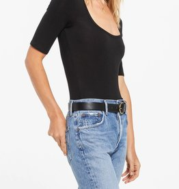 Z SUPPLY SHOP CARA SLEEK SCOOP BODYSUIT