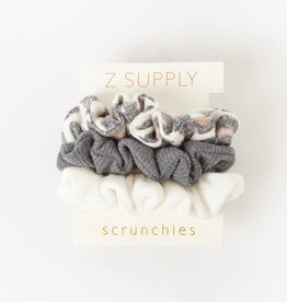 Z SUPPLY SHOP SCRUNCHIE 3 PACK