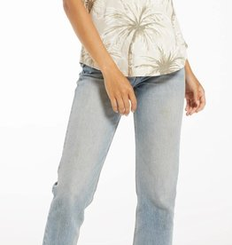 Z SUPPLY SHOP COCONUT PALM V-NECK